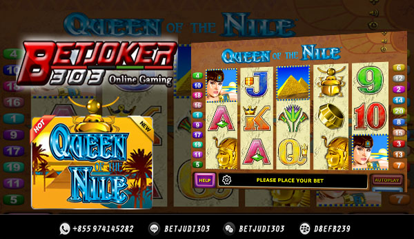 Slot Uang Asli Queen Of The Nile Dari Joker123