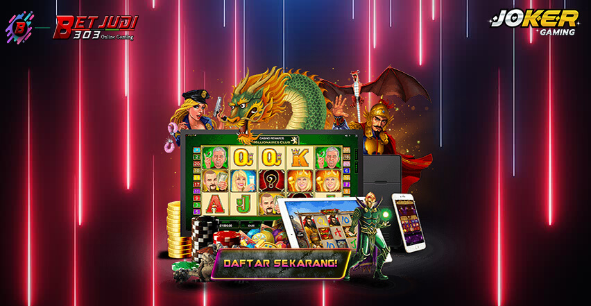 Game Slot Machine Online Situs Joker123